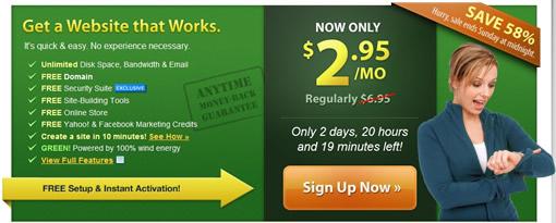 iPage主机最新优惠每月只需$2.95