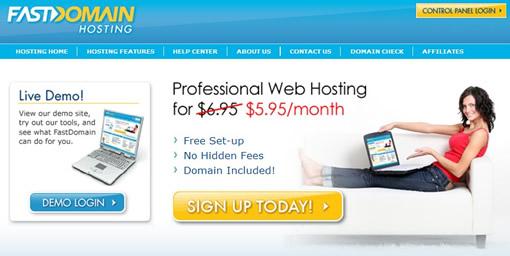BlueHost、FastDomain价格回升 HostMonster仍按3.95未动