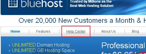 BlueHost主机如何查看当前套餐续费价格