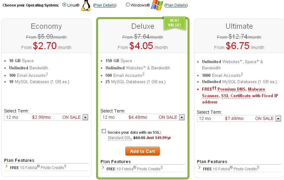 美国主机商2012圣诞节优惠之Godaddy降价促销