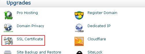 HostMonster美国主机购买SSL证书图解