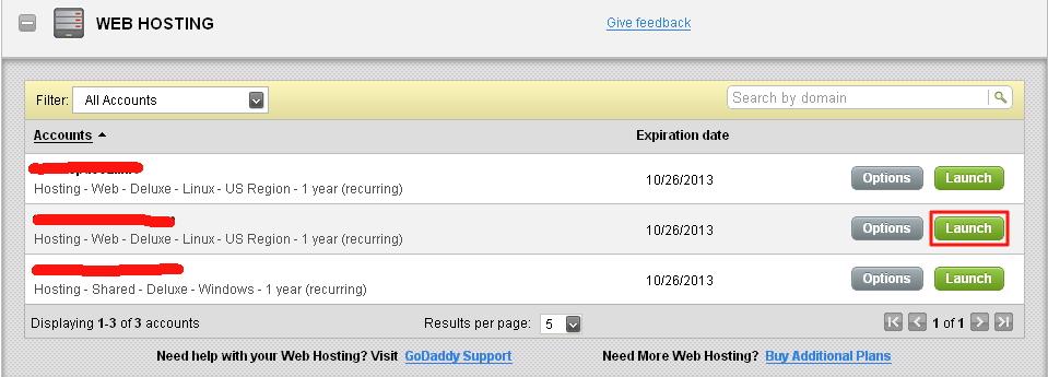 Godaddy美国主机如何更换主域名最新图解
