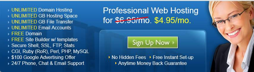 BlueHost虚拟主机$4.95清凉过盛夏