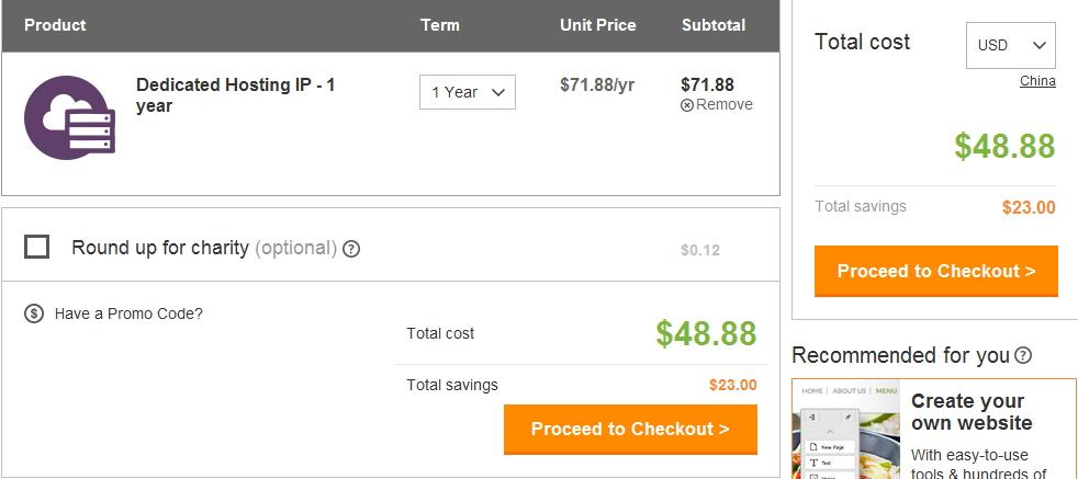 美国虚拟主机Godaddy九月32%优惠链接 超值奉献