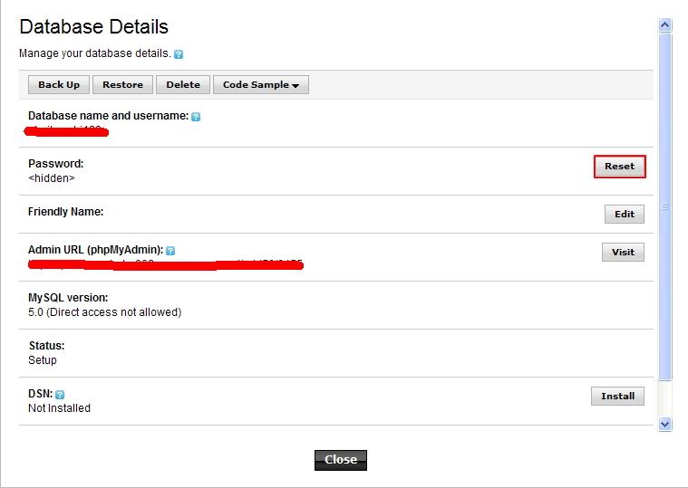 美国虚拟主机Godaddy如何修改数据库密码