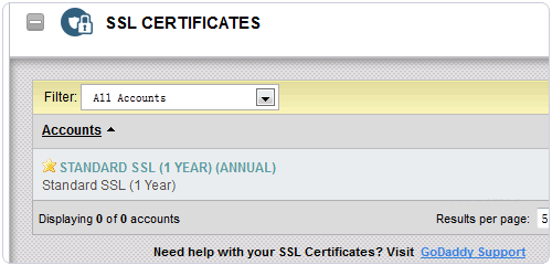 GoDaddy如何安装SSL证书