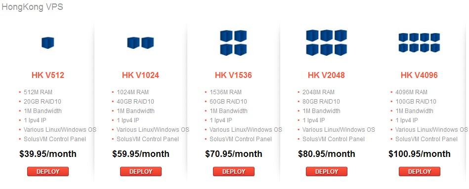 raksmart推出香港vps服务器