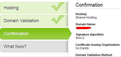 完成sll证书安装