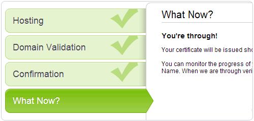 确认你的SSL证书配置信息