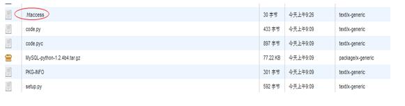 显示.htaccess 文件